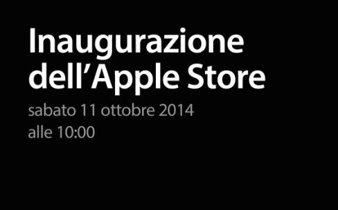 Le 15e Apple Store italien ouvrira samedi prochain