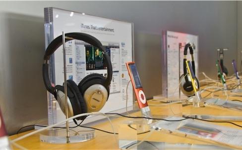 Les Apple Store commencent à mettre les produits Bose de côté