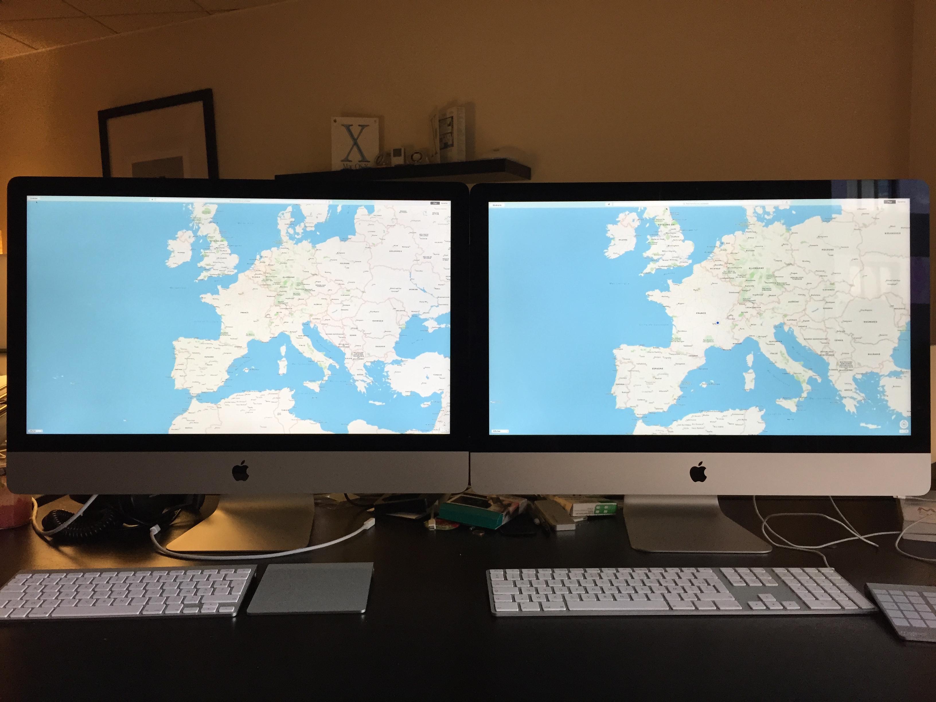 Test des imac 27 pouces retina 5k fin 2014 macgeneration for Test ecran 27 pouces
