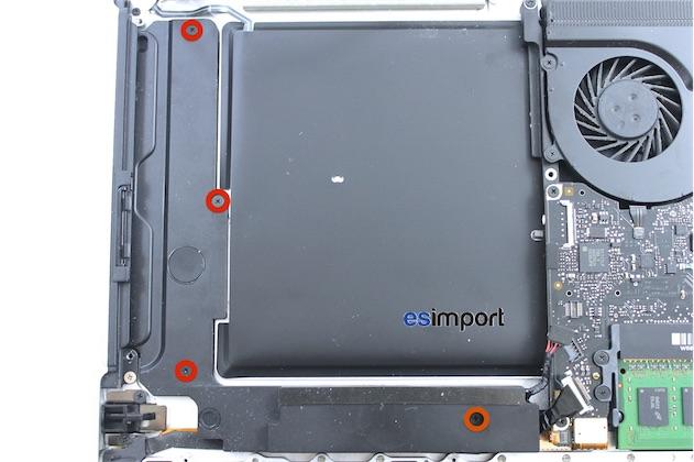 changer le c ble du disque dur d un macbook pro 15 pouces fin 2008 macgeneration. Black Bedroom Furniture Sets. Home Design Ideas