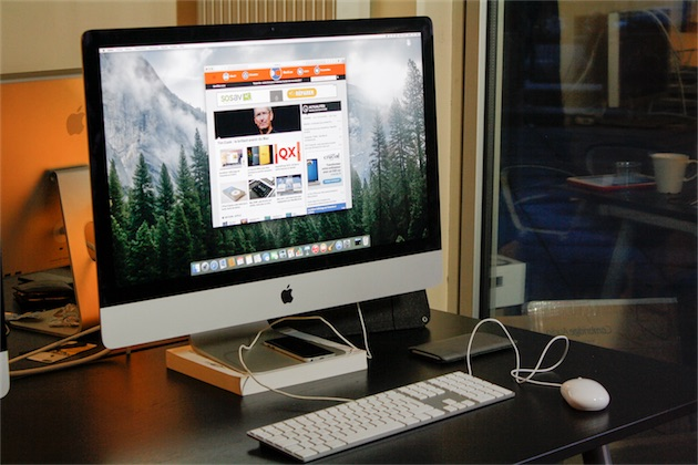 test des imac retina 27 pouces fin 2014 macgeneration. Black Bedroom Furniture Sets. Home Design Ideas