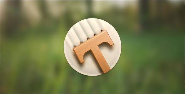 L'icône de Typed annonce la couleur.