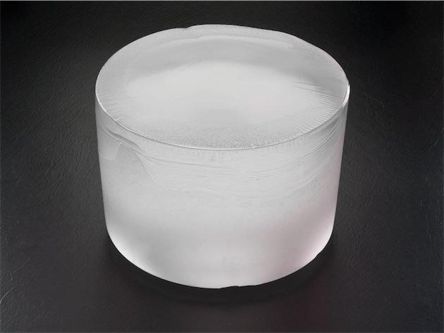 Une «boule » de saphir synthétique de GTAT. Image GTAT.