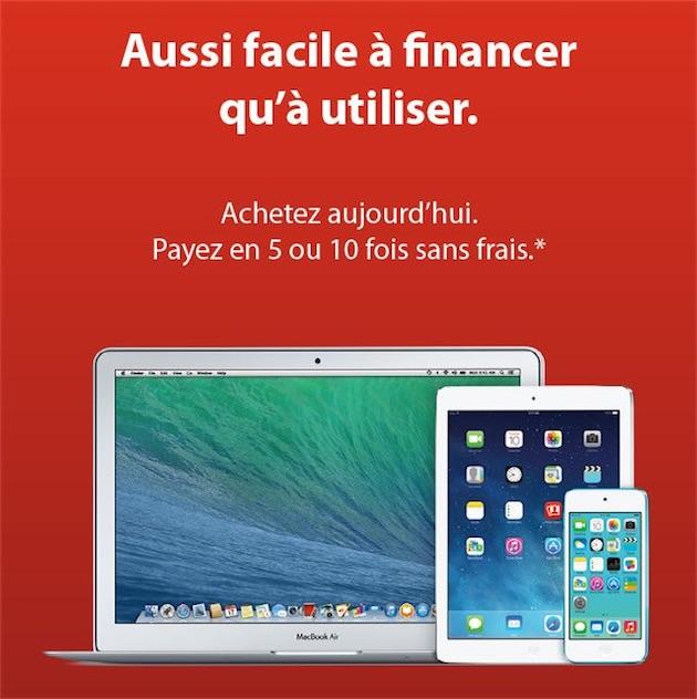 Des Achats En 5 Ou 10 Fois Sans Frais Chez Les Revendeurs Apple  Macgeneration Meuble Paiement En 10 Fois Sans Frais