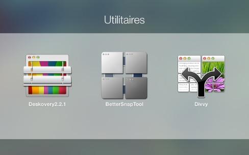 Comparatif de gestionnaires de fenêtres sur OS X