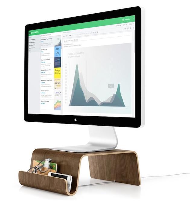 evernote vend trois supports pour vos crans imac et portables macgeneration. Black Bedroom Furniture Sets. Home Design Ideas