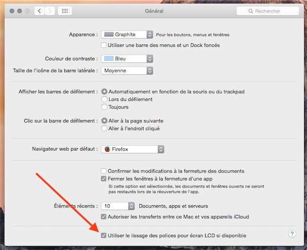 MacBook Pro Retina : QuicRes et autres