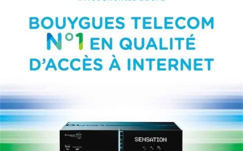 Bouygues Telecom arrête sa pub liée aux mesures de l'ARCEP
