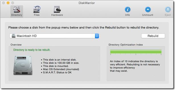 diskwarrior 5 toujours plus fort pour r parer les disques des mac macgeneration. Black Bedroom Furniture Sets. Home Design Ideas