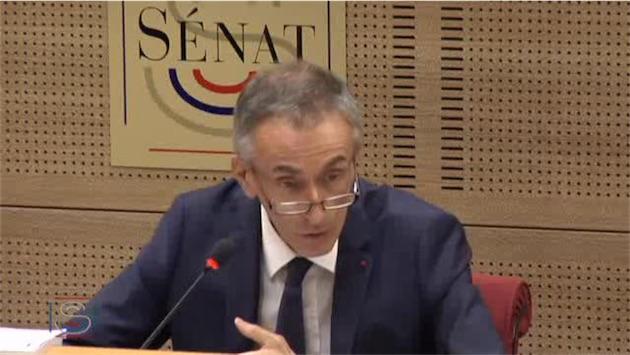 Jean-Ludovic Silicani. Image Sénat.