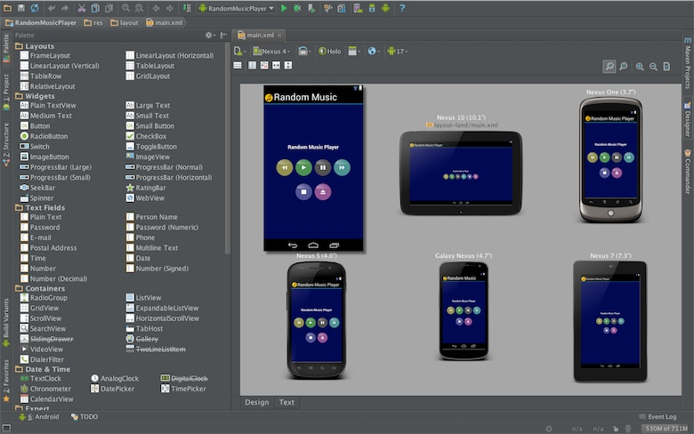 Android Studio.