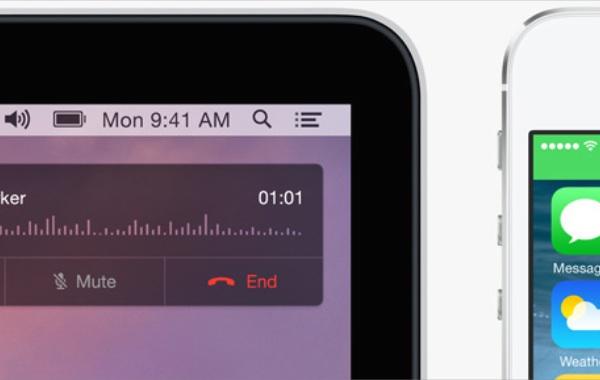 OSX Yosemite et iOS8 connectés comme jamais
