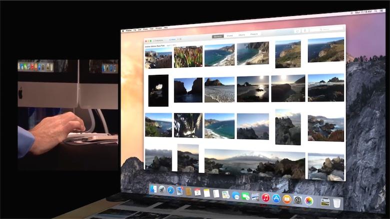 Photos pour OS X sera disponible au début de l'année prochaine.