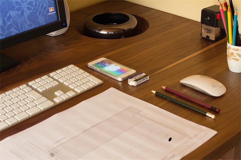 id e un mac pro cach dans le bureau macgeneration. Black Bedroom Furniture Sets. Home Design Ideas
