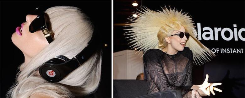 Ambassadrice de Monster et directrice artistique pour Polaroïd, Lady Gaga est une des rares personnalités à avoir vraiment travaillé sur de vrais projets.