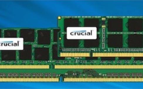 Promo : 10% sur la RAM Crucial pour les Mac