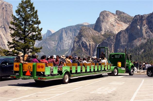 Yosemite Open Air Tram Tour