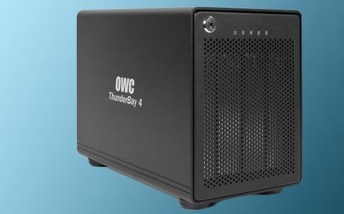 Test du boîtier RAID OWC ThunderBay 4