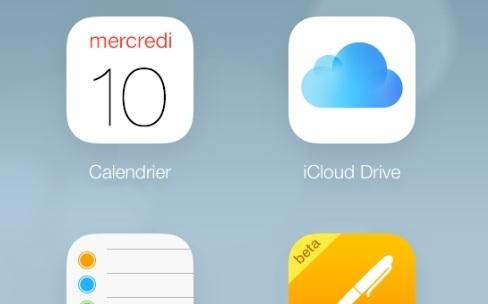 iCloud Drive et des réglages dans le portail web iCloud.com [màj]