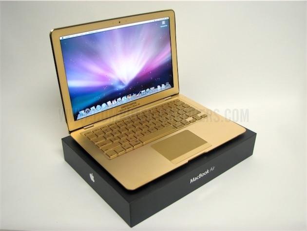 mac  rumeur un macbook air en aux couleurs de liphone