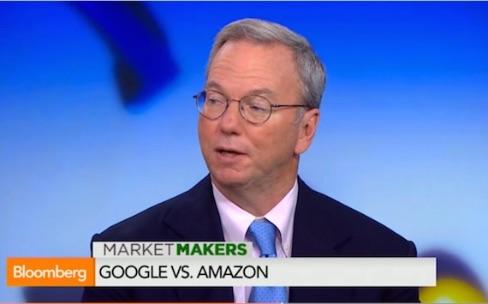 Eric Schmidt : «La bataille entre Apple et Google profite aux clients»