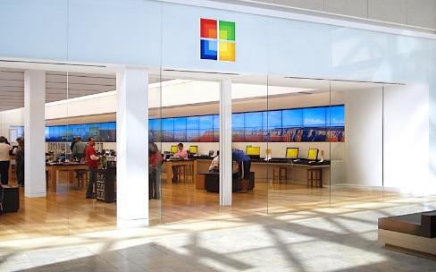 Le Microsoft Store de la 5e Avenue aussi important que le cube d'Apple