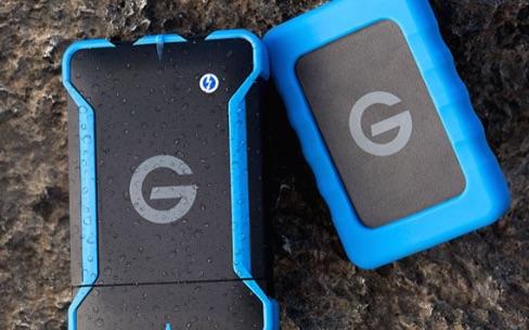 "G-Technology lance des disques durs ""Rugged"""