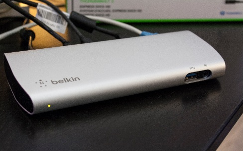 Test de la station d'accueil Thunderbolt 2 Express Dock HD de Belkin