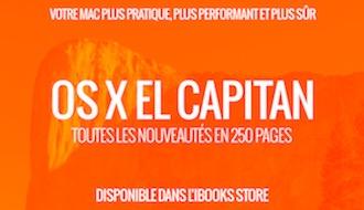 OS X El Capitan : le guide de MacGeneration sur l'iBooks Store