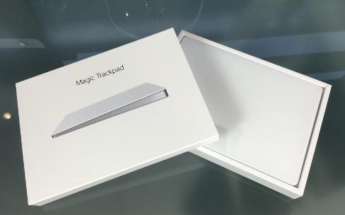 Prise en main du Magic Trackpad2