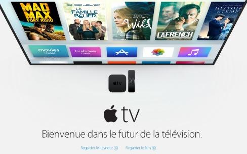 Le site d'Apple ne sait pas que l'Apple TV est sortie