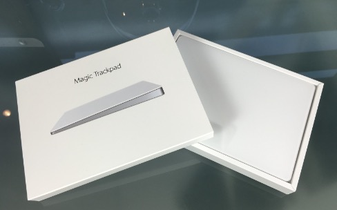 Test du Magic Trackpad 2