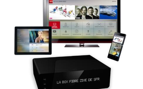 Box Zive: SFR va lancer une box 4K et une offre de SVOD