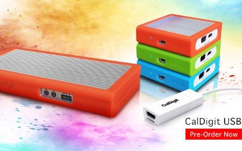 MacBook : CalDigit prépare deux docks USB-C