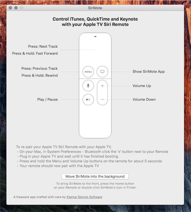 SiriMote : contrôlez votre Mac avec la Siri Remote