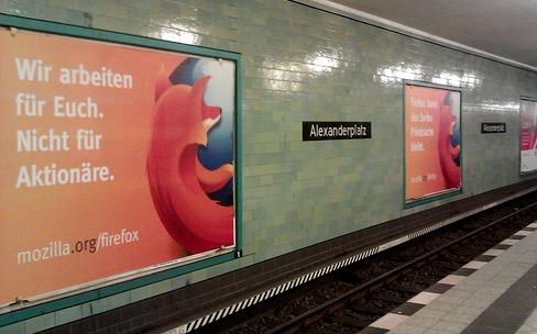 Mozilla arrête son programme de publicité dans Firefox