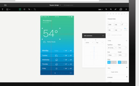 Figma, une nouvelle plateforme web collaborative pour designers