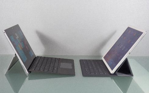 Ce que l'iPad Pro devrait copier sur la Surface Pro 4 (et inversement)