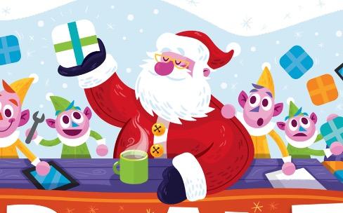 App Santa: bientôt des promos de Noël sur des apps iOS et OSX