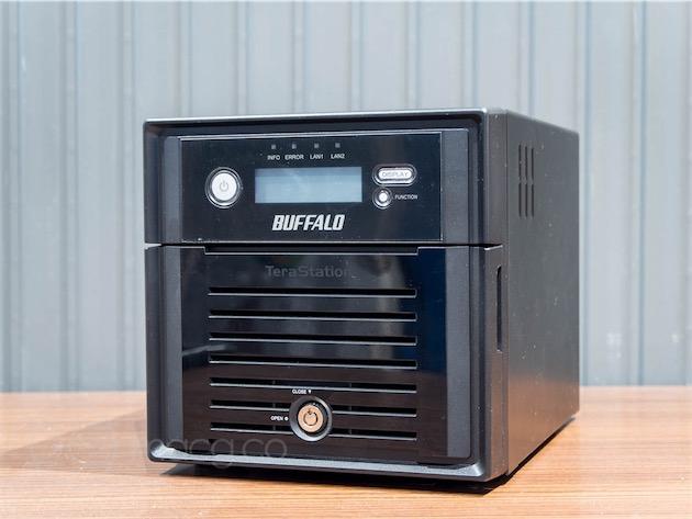 Le Buffalo TeraStation 3200D.
