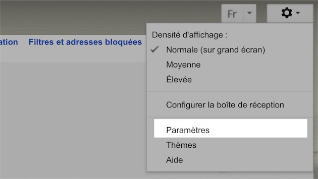 icone pour gmail