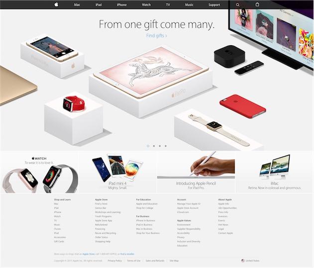 Apple a lancé sa campagne de Noël dès le 13 novembre…