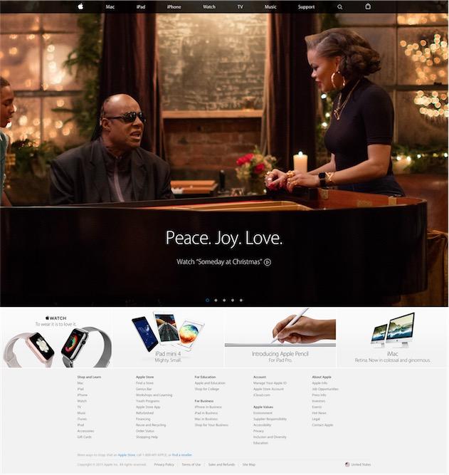 …pour présenter sa traditionnelle publicité de fin d'année un mois tout juste avant Noël.