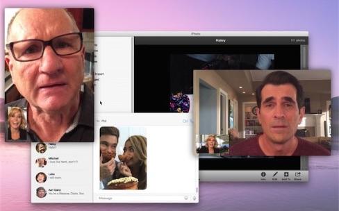Un épisode de The Modern Family tourné à l'intérieur de produits Apple