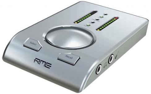 Interface audio: l'intégration de la RME Babyface à OS X