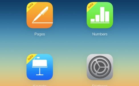 iWork pour iCloud accessible aux personnes sans matériel Apple