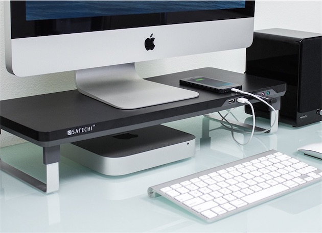 satechi une gamme de supports pour imac et crans macgeneration. Black Bedroom Furniture Sets. Home Design Ideas