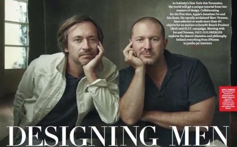 Venez écouter Jonathan Ive et Marc Newson parler luxe et design