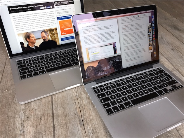 tests  test du macbook pro retina debut