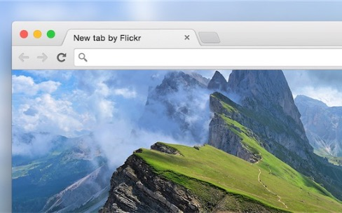Flickr affiche ses plus belles photos dans Chrome